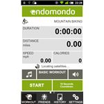 Endomondo for Android Screenshot