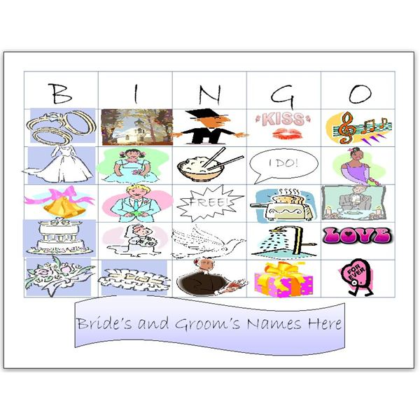 Planning A Wedding Shower? These Printable Bridal Shower Bingo