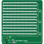 230 V LED Light Fixture Circuit Diagram, Image