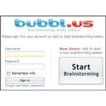 Mind Mapping Software for Teachers: Bubbl.us