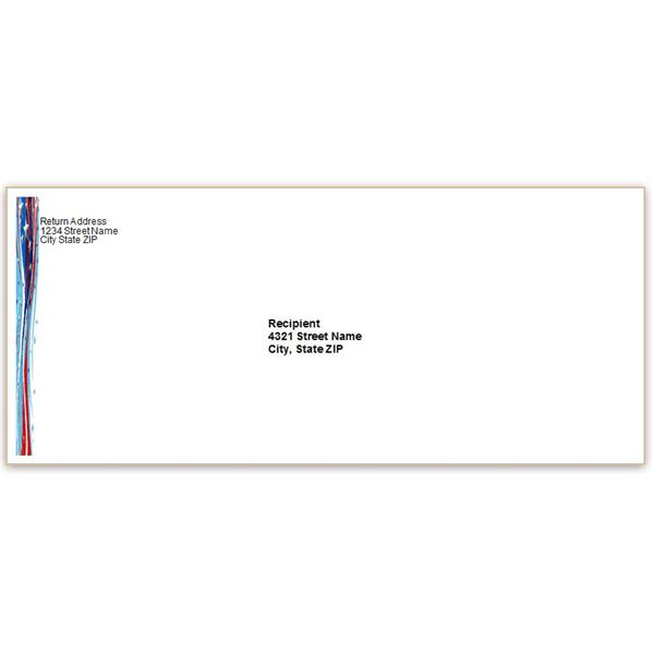 Business envelope template word friedricerecipe Choice Image