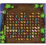 The harvesting mini game.