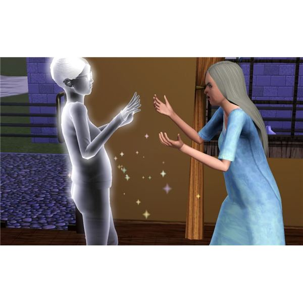 sims 3 dating death