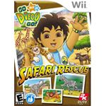 Go Diego Go Safari Rescue Wii
