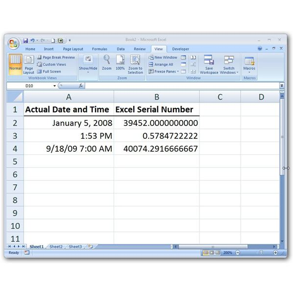 Serial Number: How To Switch Between Excel Serial Numbers And Real Date