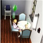 The Sims 3 Kids Doing Homework