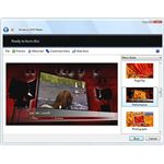 Fig 1 - Windows DVD Maker Interface