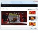 Fig 1 - Windows DVD Maker Interface