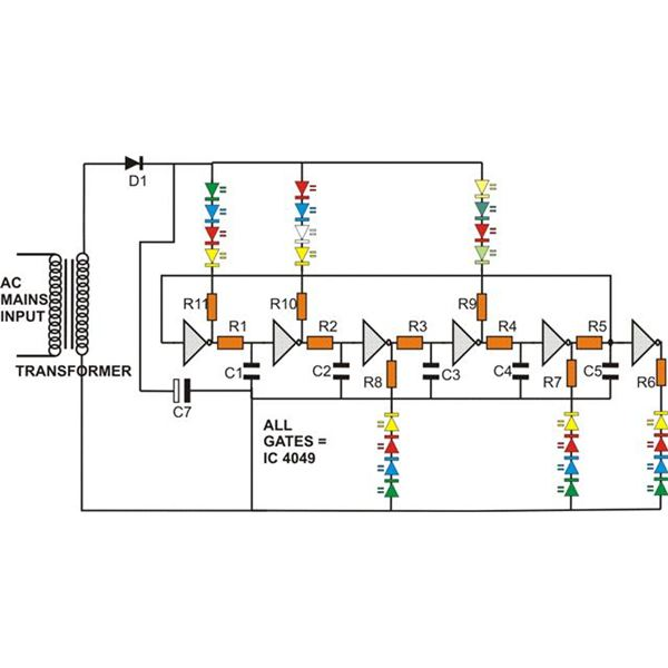 how to build a fairy night light construction explained fairy night light circuit diagram