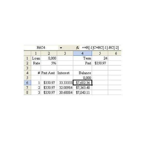 Learn R1C1 Referencing to Understand Formula Copying in ...