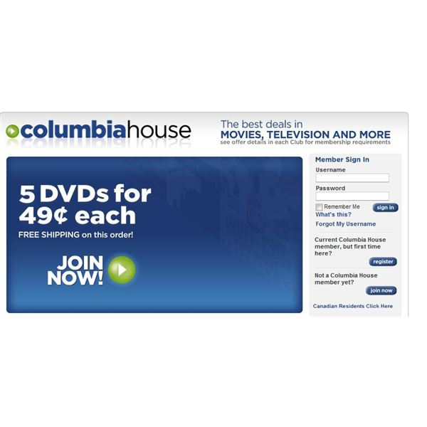 Columbia House bought BMG a few years back and is now exclusivly a dvd club. BMG DVD club is a great place to find similar deals on dvds as you would expect from BMG music. BMG dvd club has 's of great titles, including new releases, to choose from. With the merger, Columbia House DVD Club continues to dominate the DVD clubs world, and BMG.