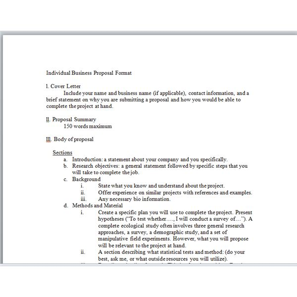 Sample Business Project Proposal Sample Business Proposal Proposal