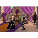 The Sims Medieval Monarch swordfighting