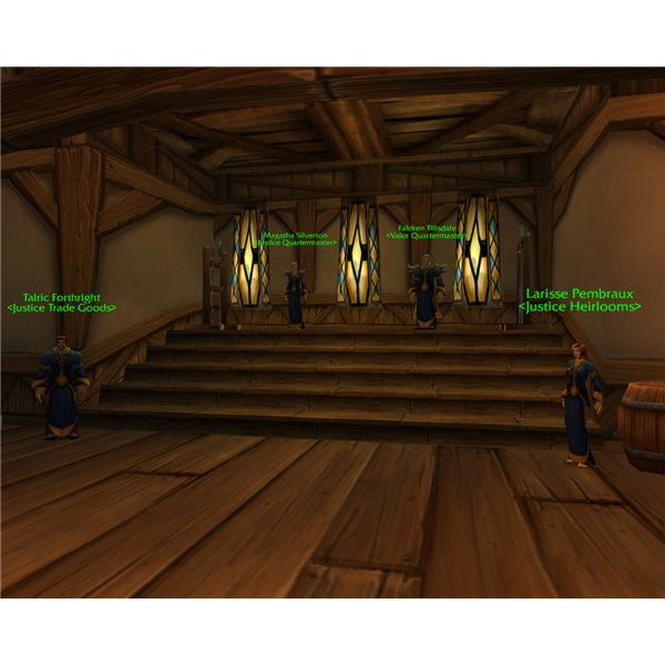 World Of Warcraft Valor Points Vendor Alliance