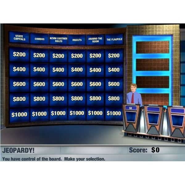 Jeopardy Game Play