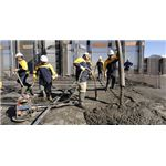 Self Compacting Concrete Laying