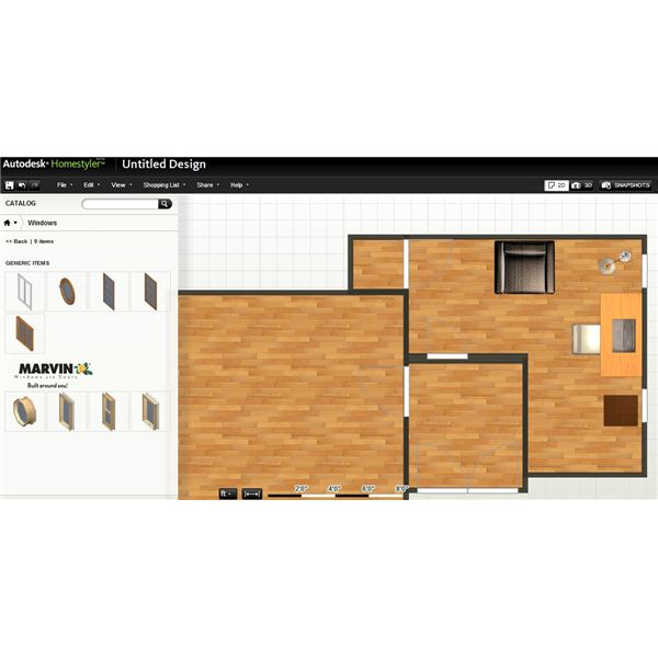 Another Free Floor Plan Software Online Application Home Styler Was Obviously Created With Home Design In Mind With The Features It Provides However