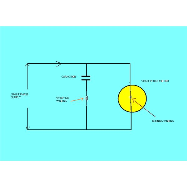 10 simple electric circuits diagrams single phase motor circuit