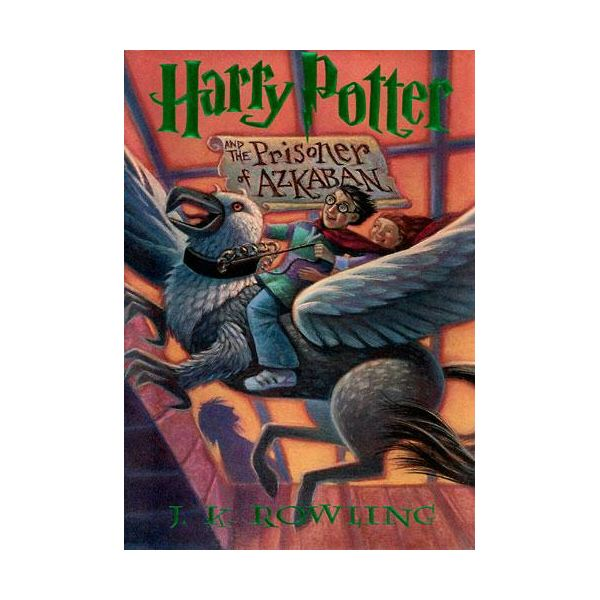 Harry Potter Book Cover Analysis : Harry potter and the prisoner of azkaban middle school