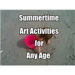 Summertime Art Activities for Kids