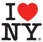 I Love NY logo (American Typewriter font)