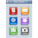 Print n Share iPhone App