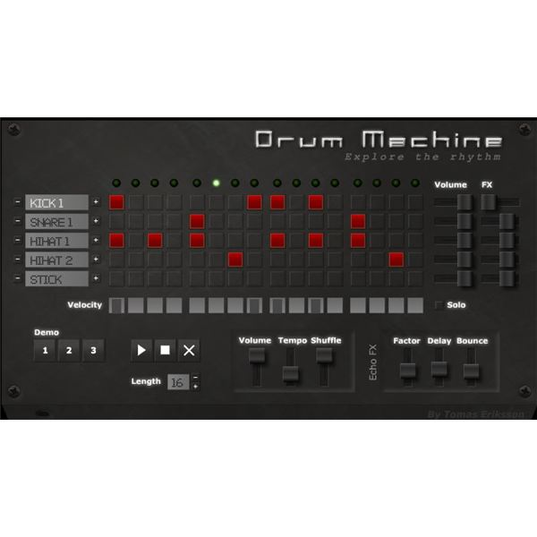 drum machine and sler