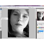 Softening Skin Photoshop Screenshot