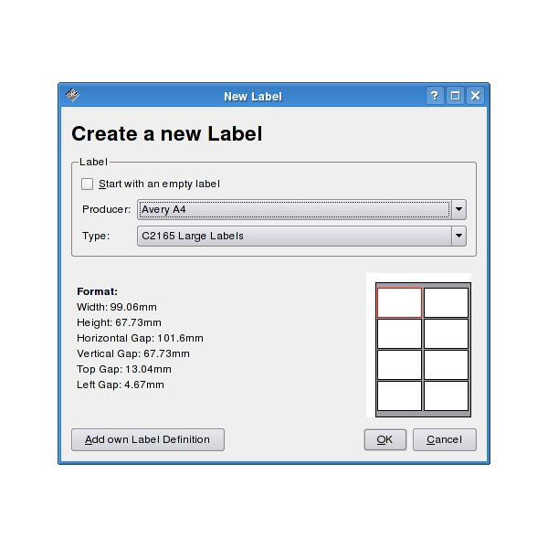 Freeware printing software for linux the application lets you print barcodes labels and even business cards it supports images as well as formatted reheart Image collections