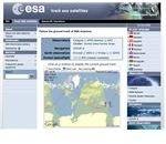 European Space Agency tracker