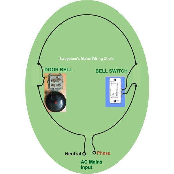 How to Wire a Door Bell, Wiring Layout, Image