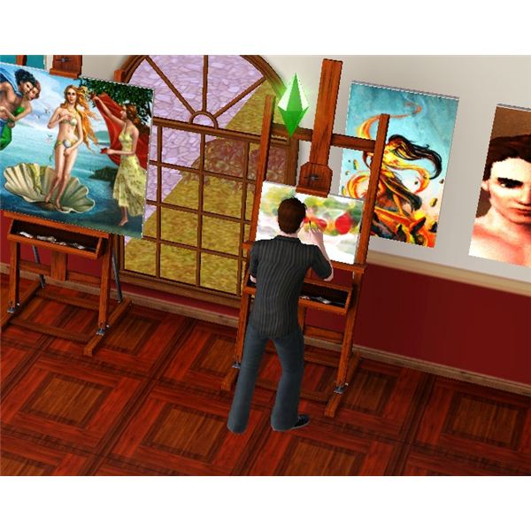 The Sims 3 Photography Home Decor Guide