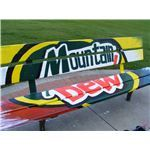 Pop Art Bench Mountain Dew