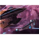 Sins of a Solar Empire's trade ships bring in the revenue to build fleets.
