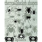 Custom Shapes Spiders by therealShelob