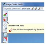 Select Discard Brush Tool