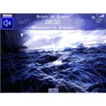 Free Sea Storm Animated Theme - BBM-pic