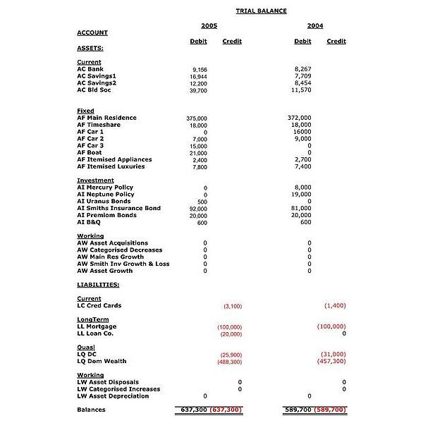 The Trial Balance: Collection of Tips, Templates and Examples