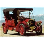 1904 Welch Touring Car with Pent-roof combustion Chamber from earlyamericanautomobiles