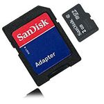 SanDisk 2GB MicroSD Card LG Optimus Black Accessories