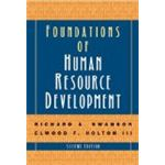 Foundations of Human Resource Development by CarolynSmithTown