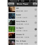Movie Player iPhone App
