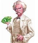 Twain with Dan'l Webster