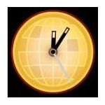 World News Analog Clock by Widgipedia