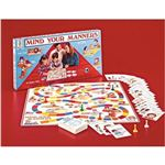 No it is not Chutes and Ladders it is a game for kids to learn manners