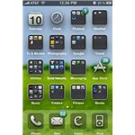 Bliss iPhone Theme