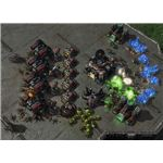 Starcraft 2 Baneling - Banelings take out Terran base