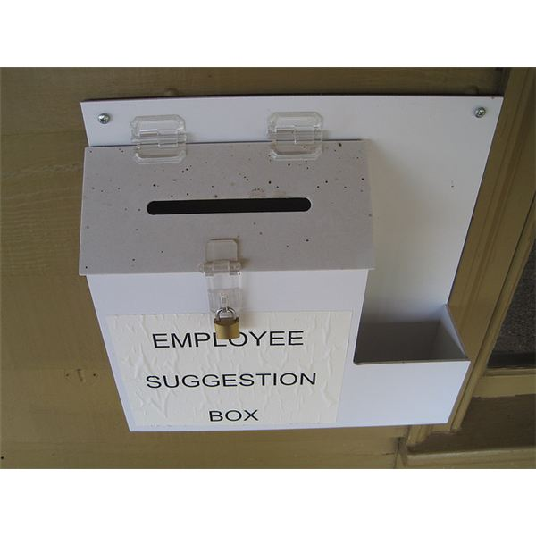 The Employee Suggestion Box: Weighing The Pros & Cons
