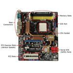 Motherboard color code – Motherboard diagram - pic