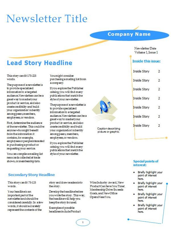 Newsletter (Arc Design)